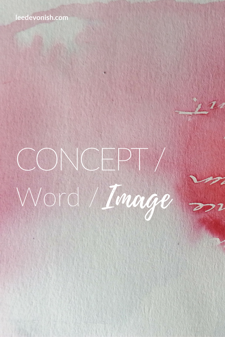 Concept/Word/Image