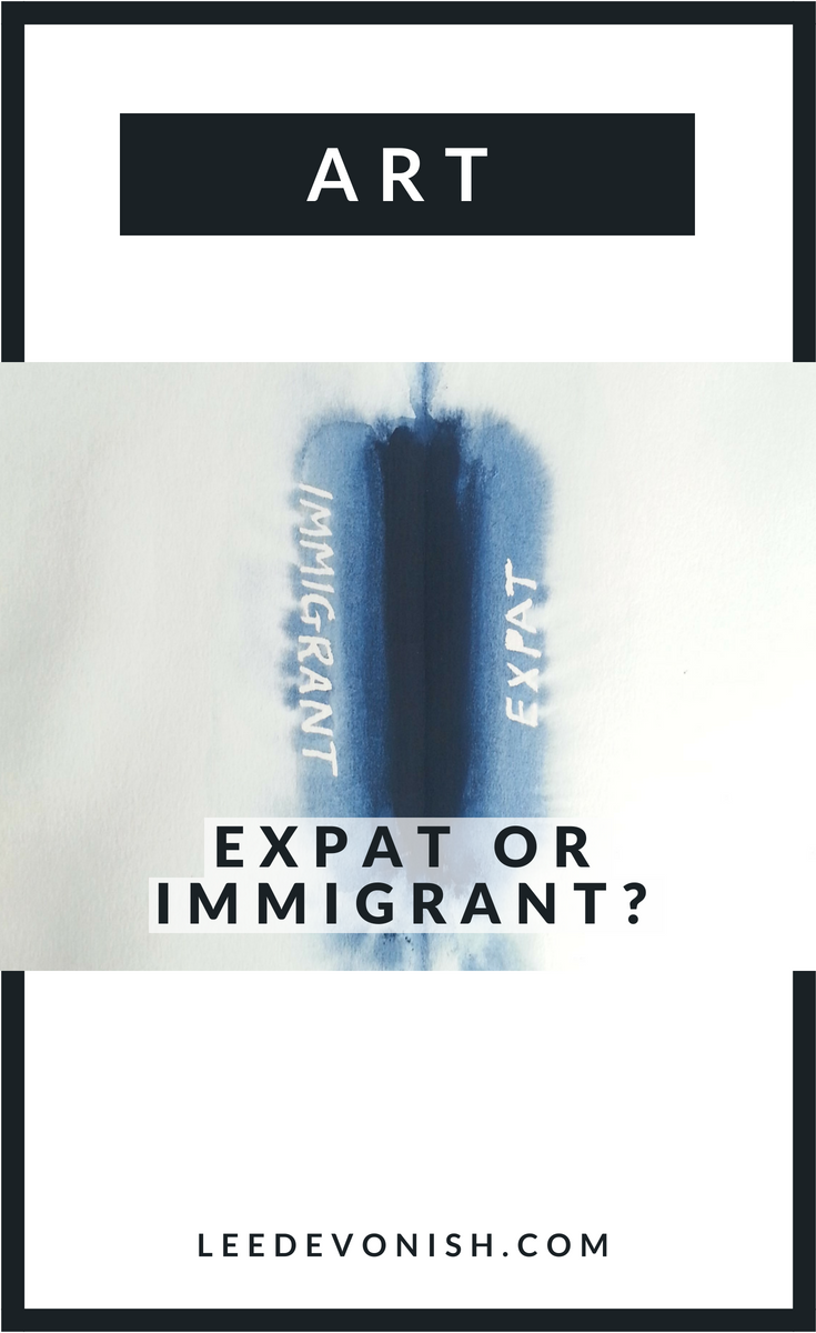 Expat or immigrant? Artworks by Lee Devonish that look at the difference these words can make.