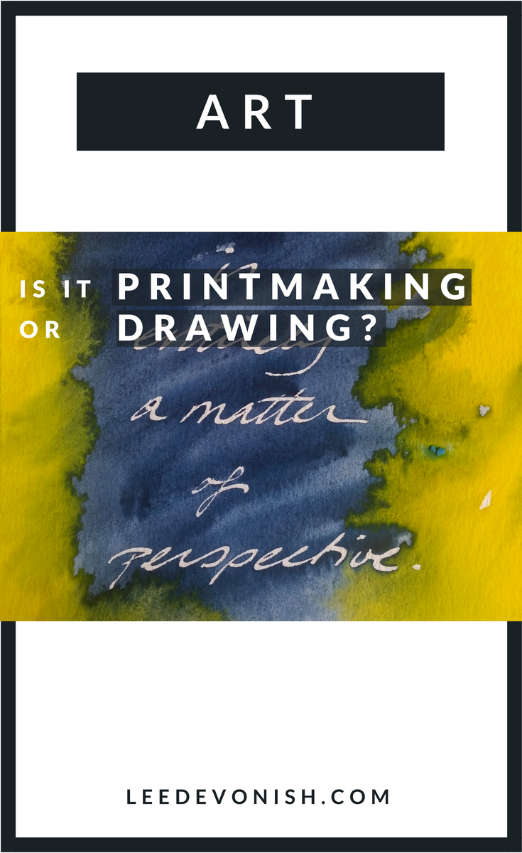Is It Printmaking or Drawing? Art Between Boundaries