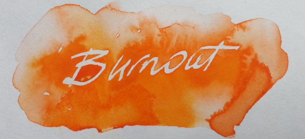 Burnout - Avoiding stress as an artist.