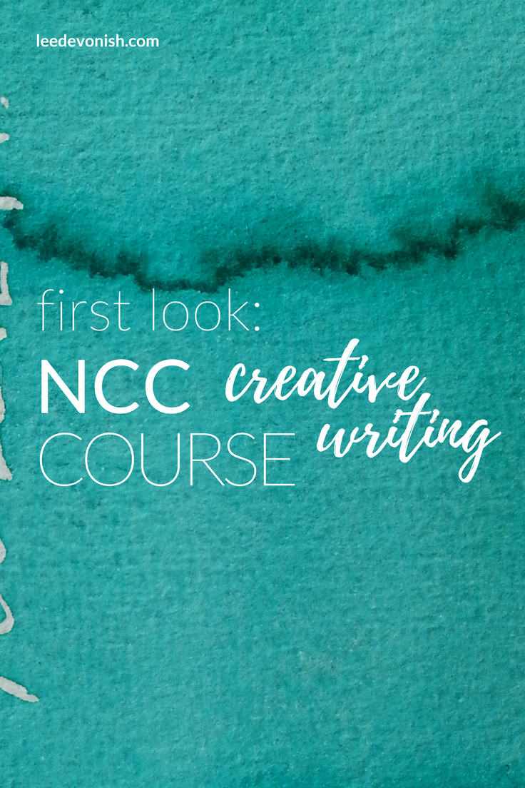 First Look: NCC Creative Writing Course