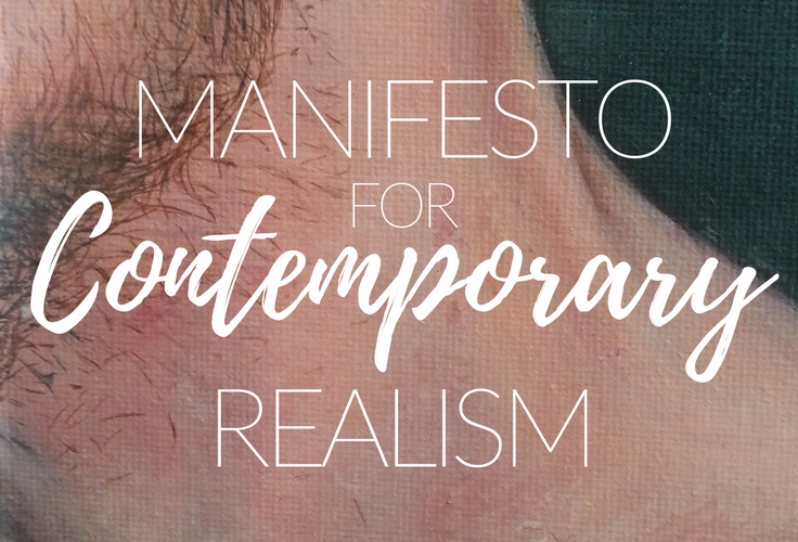 How I define contemporary realism in relation to my art practice - and how that relates to 'traditional' figuration.