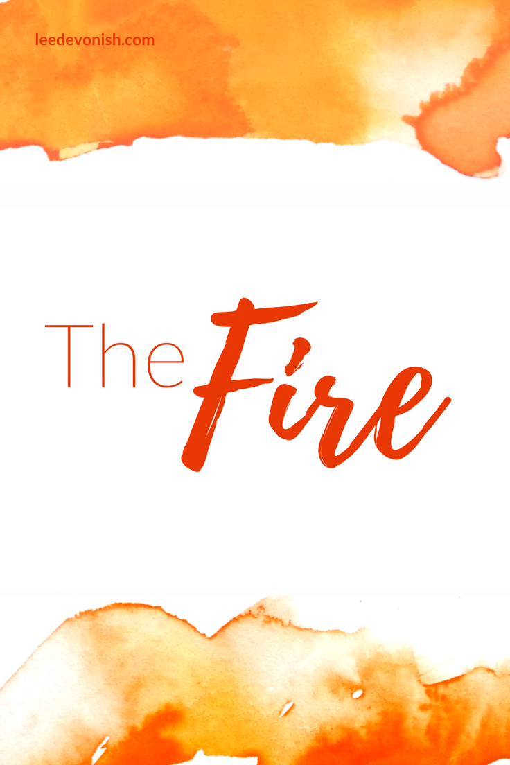 The Fire by Lee Devonish - Flash fiction | short story | marriage | domestic violence