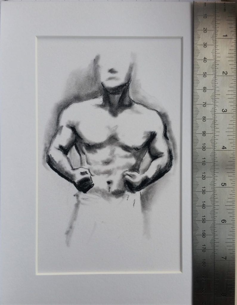 Muscle Study 5 by Lee Devonish, available on Etsy.