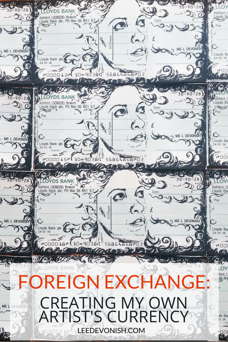 An artist's currency project by Lee Devonish.