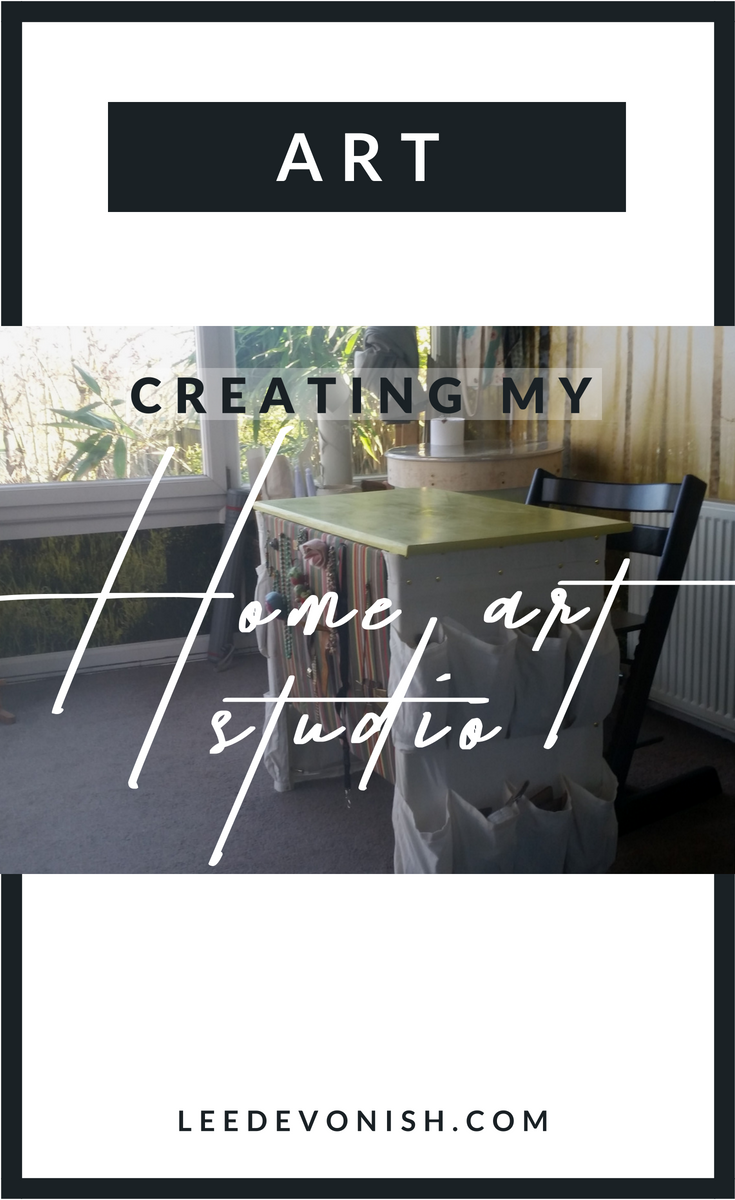 Creating My Home Art Studio
