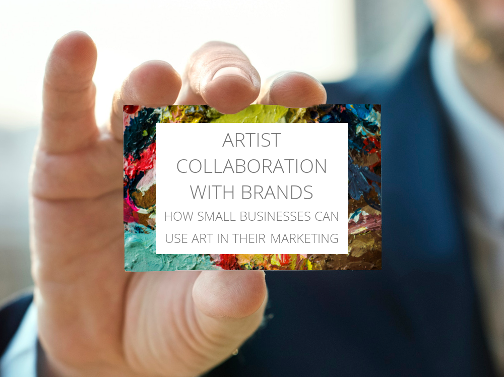 artist collaboration with brands