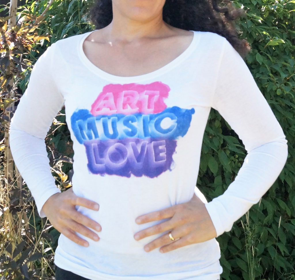 Art Music Love T shirt