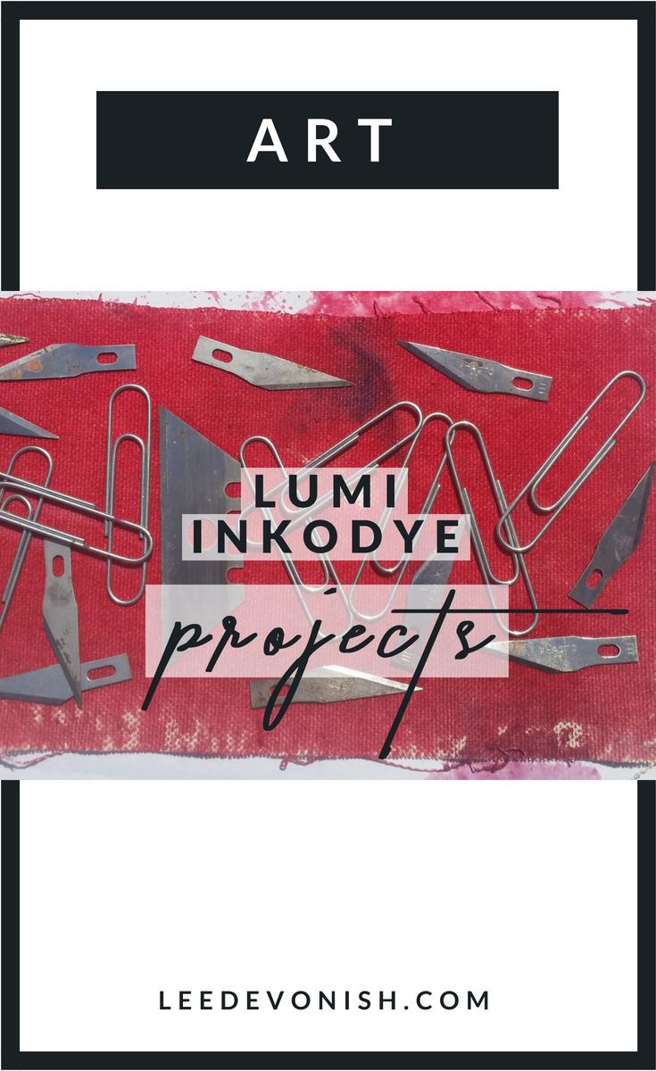 Lumi Inkodye Projects - Inkodye UK projects