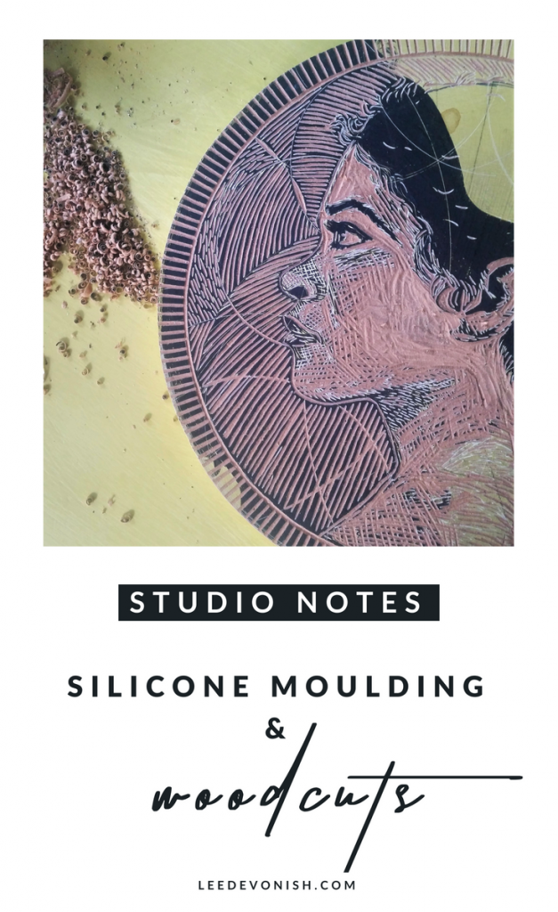 Studio Notes Silicone Moulding & Woodcuts