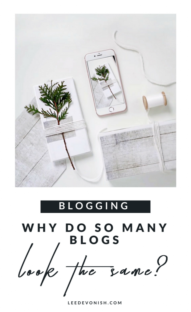 Why do so many blogs look the same? Exploring hegemony in the visual language of blogging.