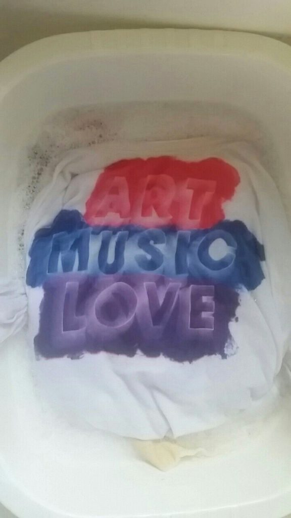 Art Music Love printed t-shirt