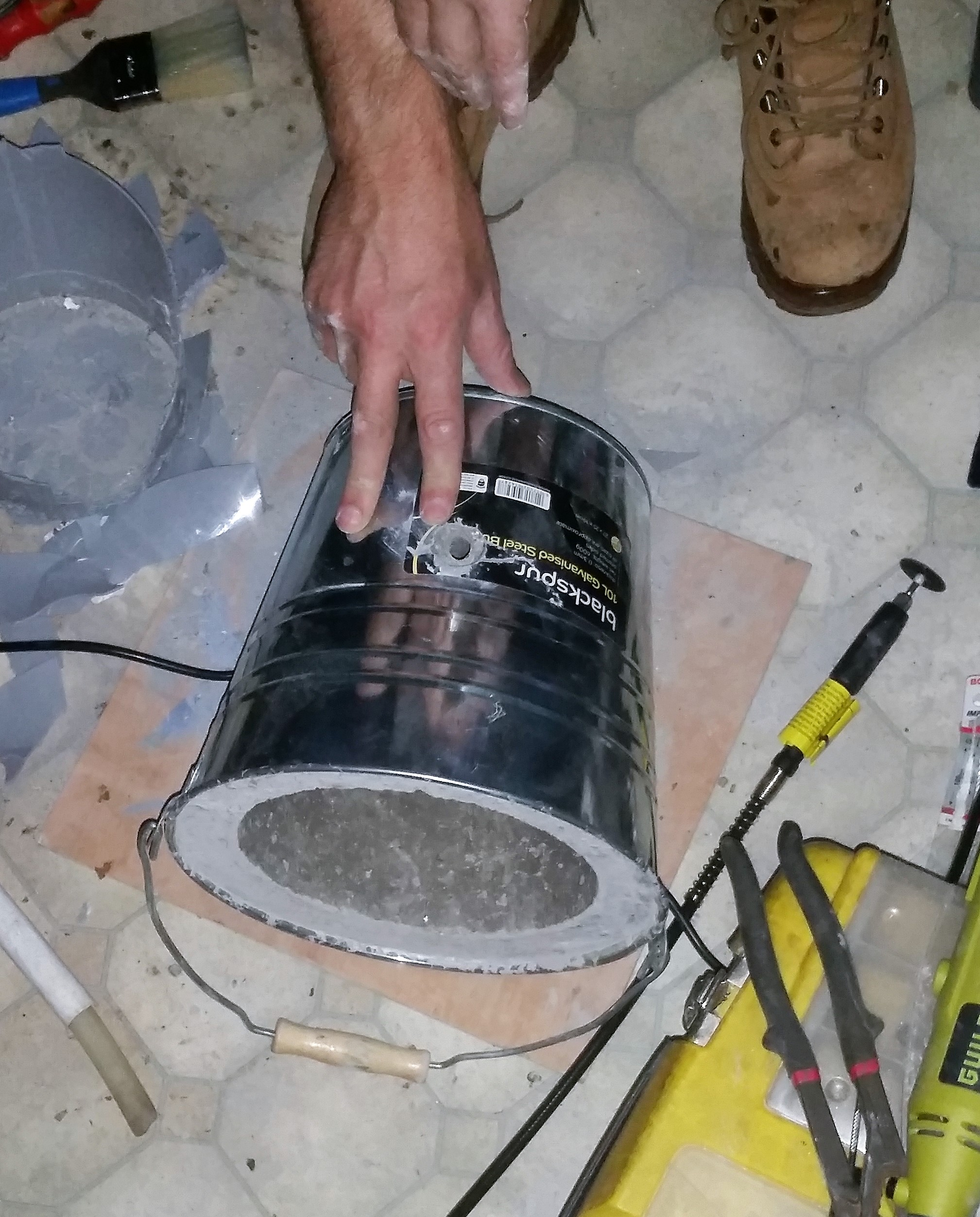 Studio Notes: Building a bucket foundry.