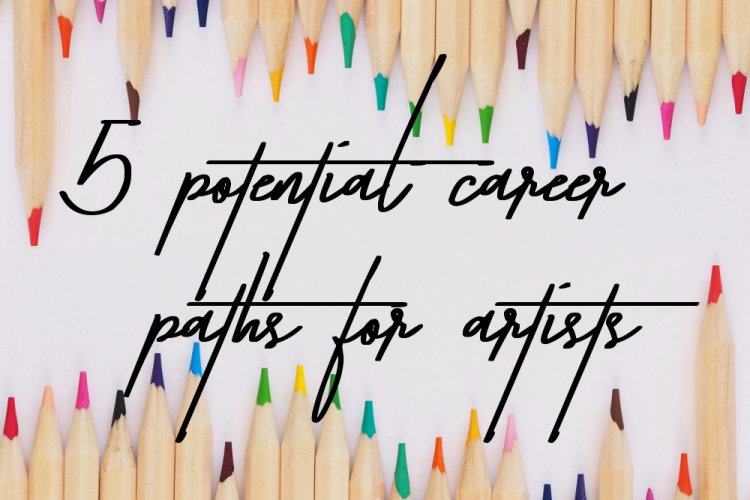 5 Potential careers for artists
