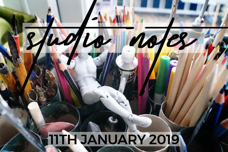 Studio Notes - 11/01/19
