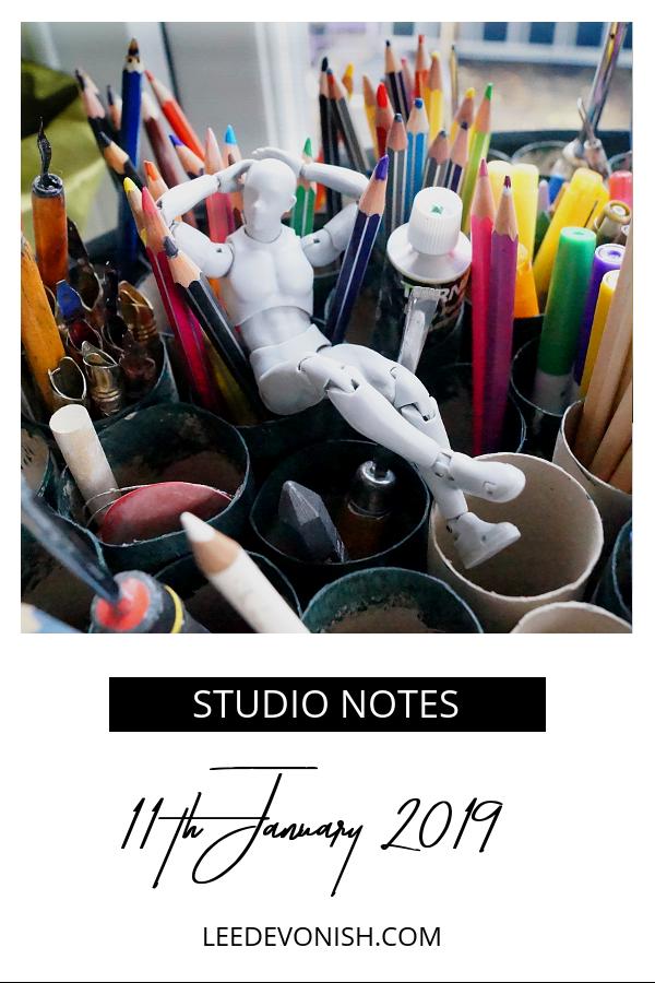 Studio Notes 11/01/19