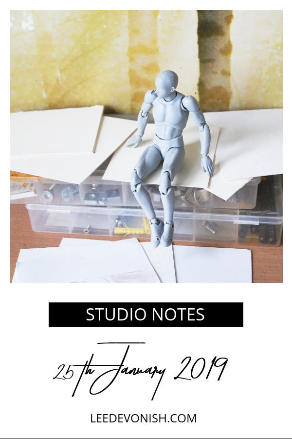 Studio Notes, 25/01/2019