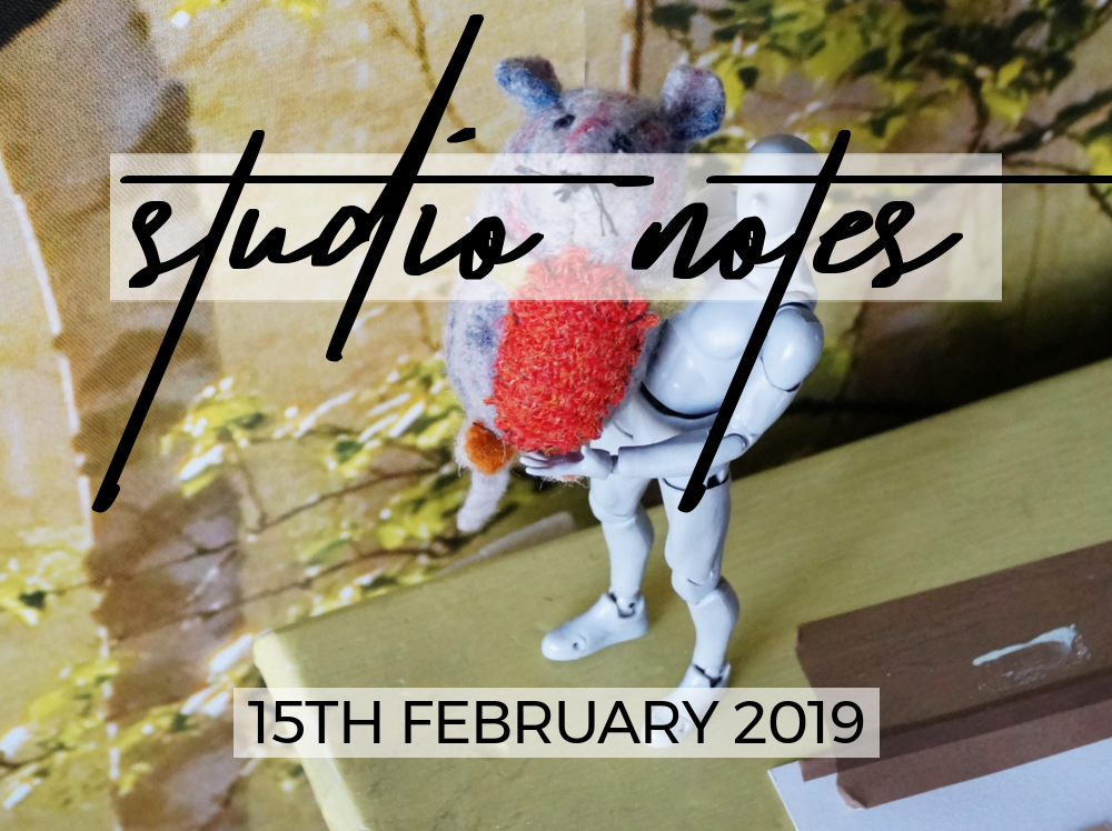 Studio Notes 15/02/19