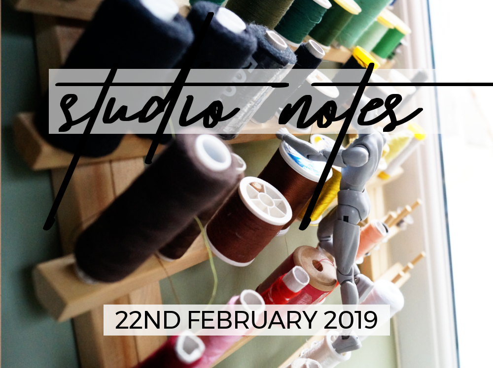 Studio Notes 22/02/19