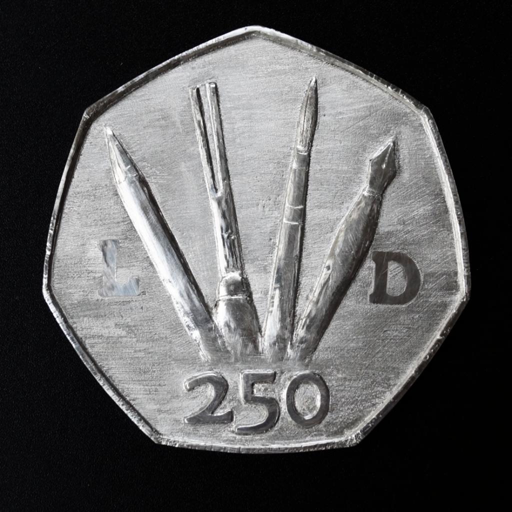 Money art | 250 Obverse prototype