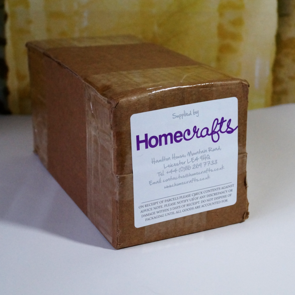 Art supplies haul February 2019 - a delayed delivery from Homecrafts