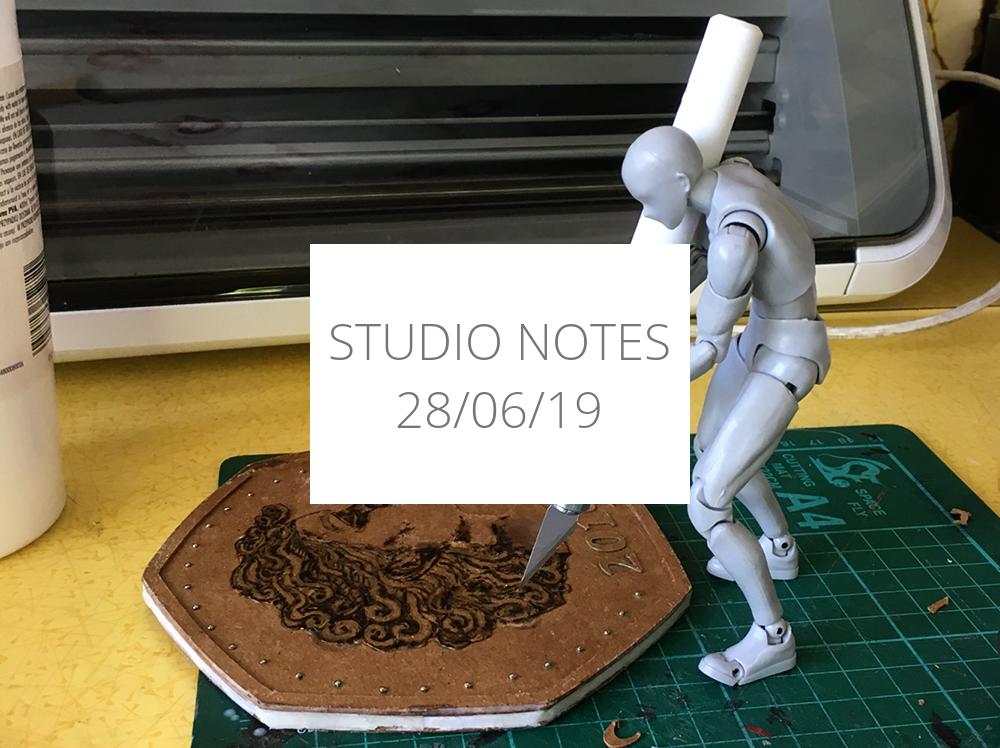 Studio Notes 28/06/19