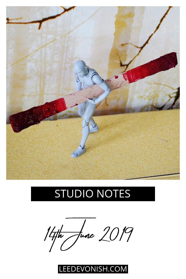 Studio notes 14/06/19