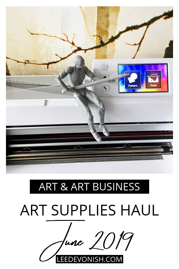 Art Supplies Haul June 2019