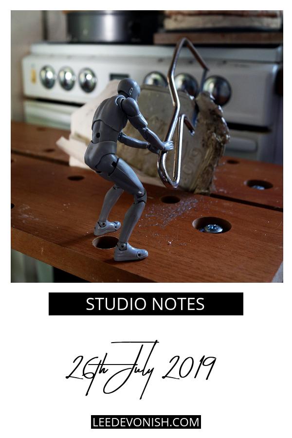 Studio Notes 26/07/19