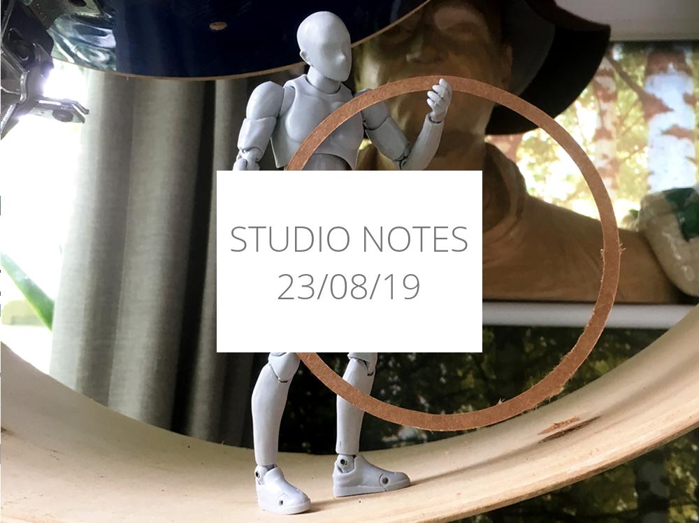 Studio Notes 23/08/19