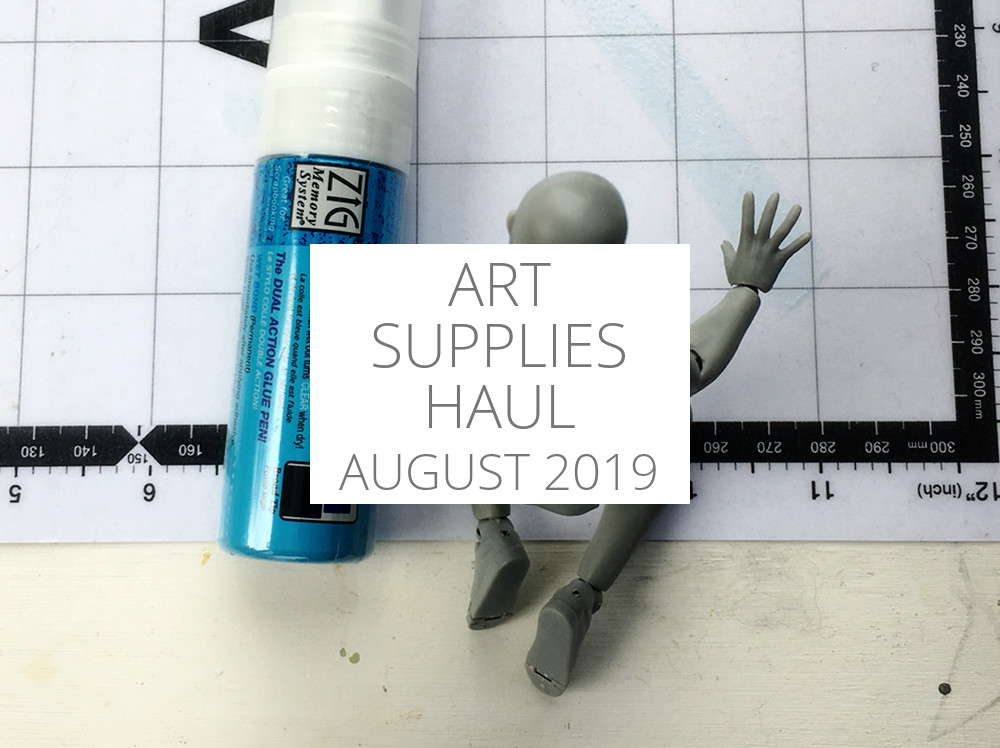 Art Supplies Haul – August 2019