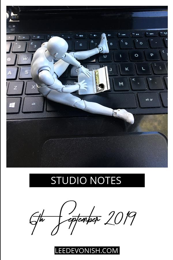 Studio Notes 06/09/19