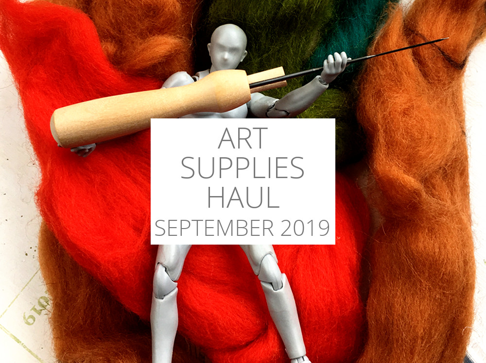 Art Supplies Haul – September 2019