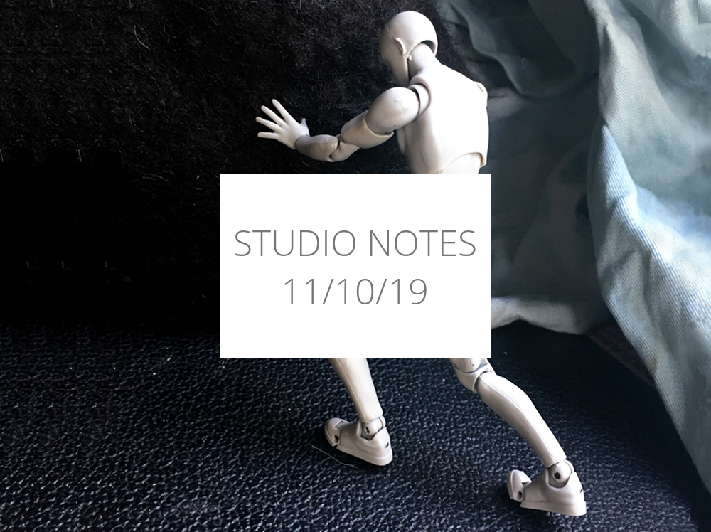 Studio Notes 11/10/19