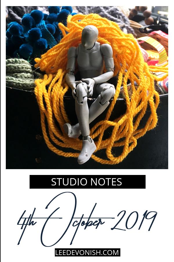 Studio Notes 04/10/19