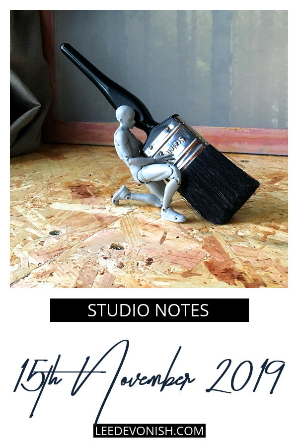Studio Notes 15/11/19