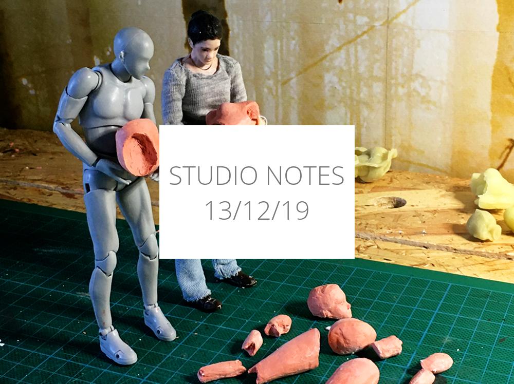 Studio Notes 13/12/19