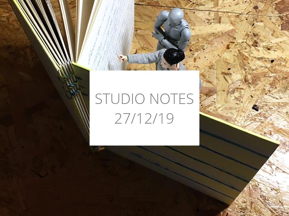 Studio Notes 27/12/19