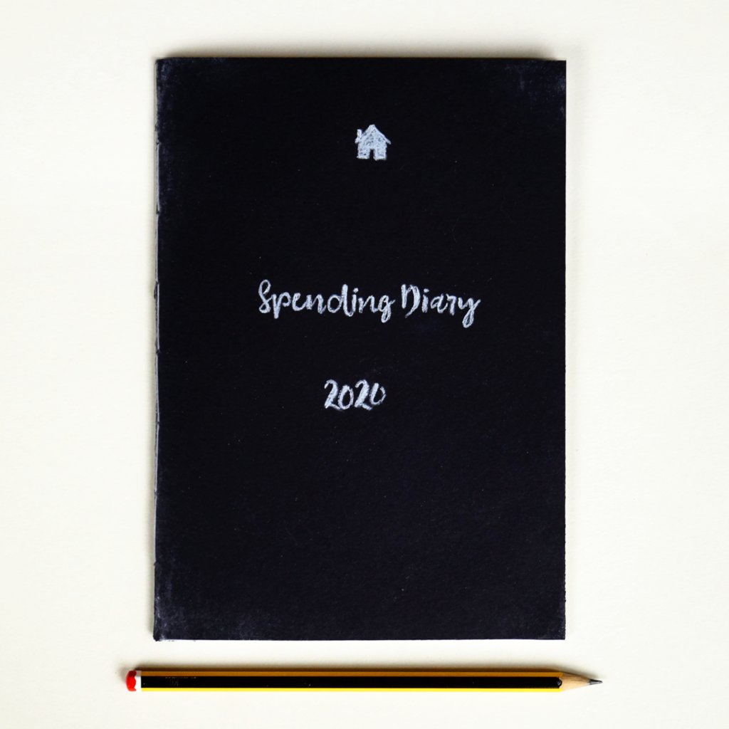 Homely Economics Spending Diary 2020