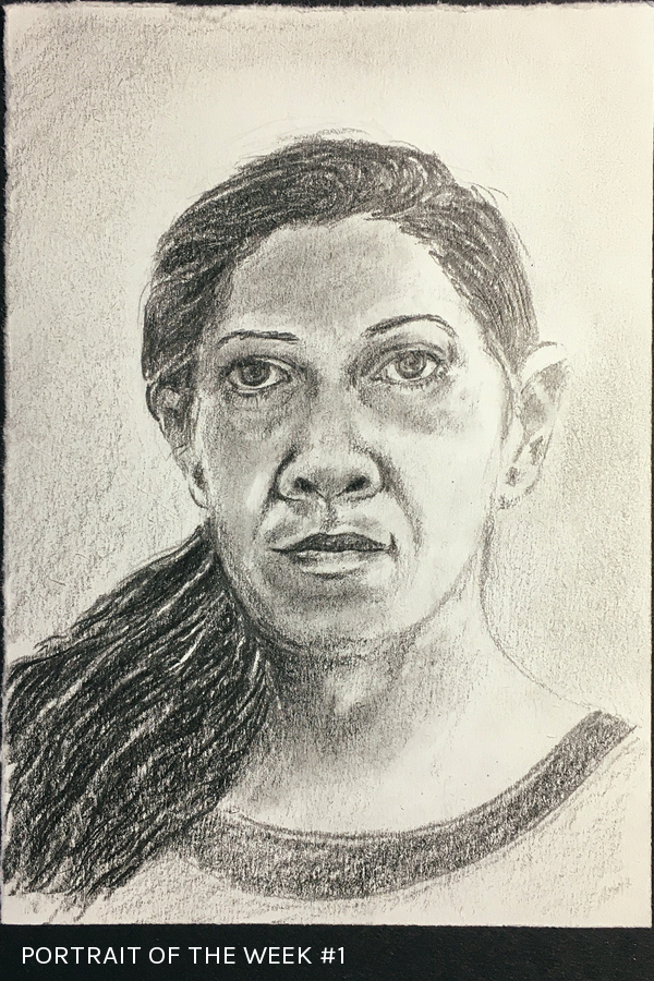 Portrait of the week #1 - Studio Notes 11/01/20