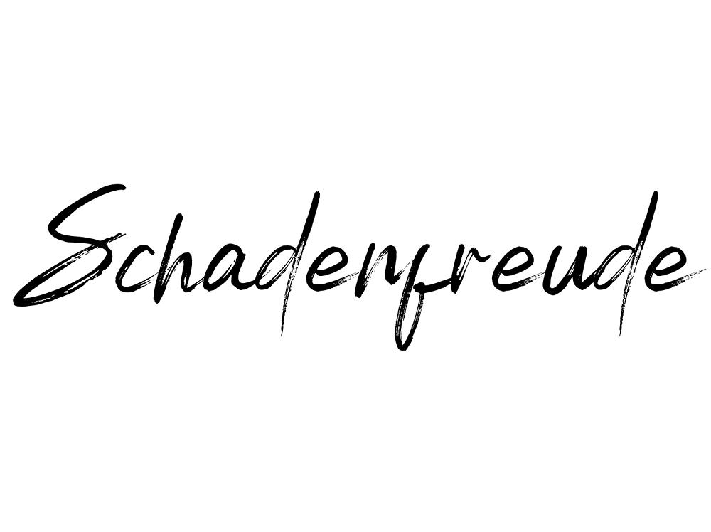 Schadenfreude meaning and etymology