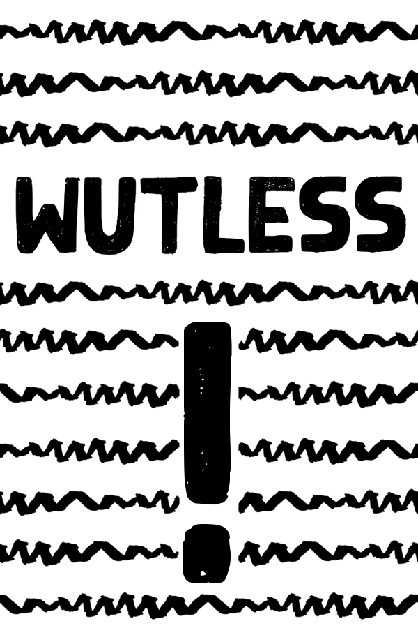 Wutless meaning and etymology