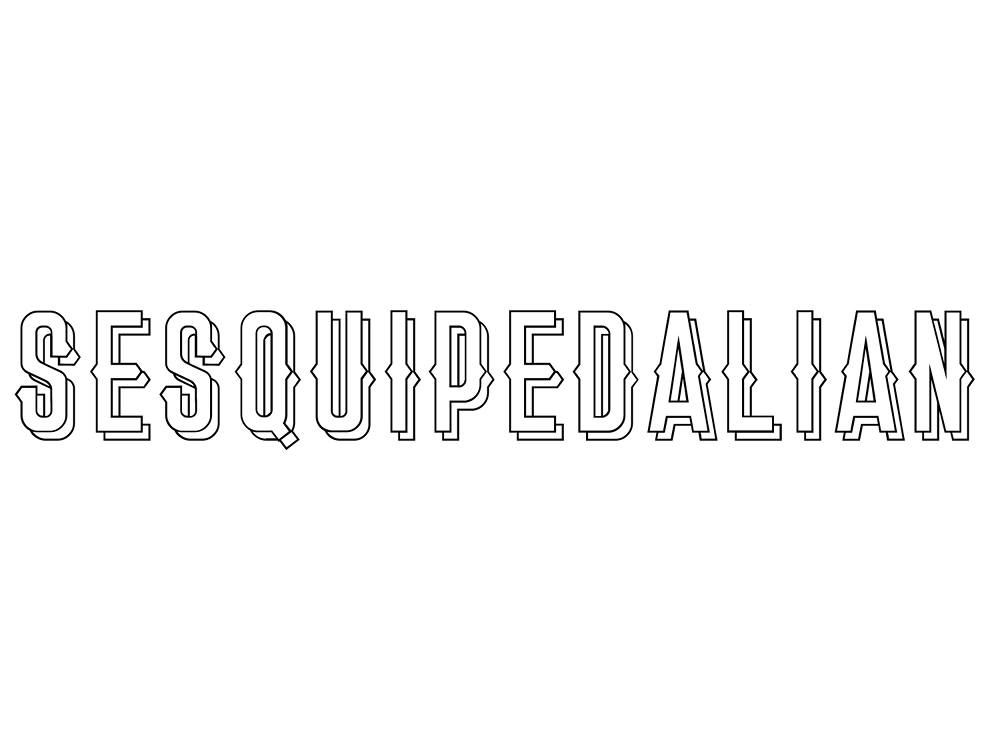 sesquipedalian meaning and etymology