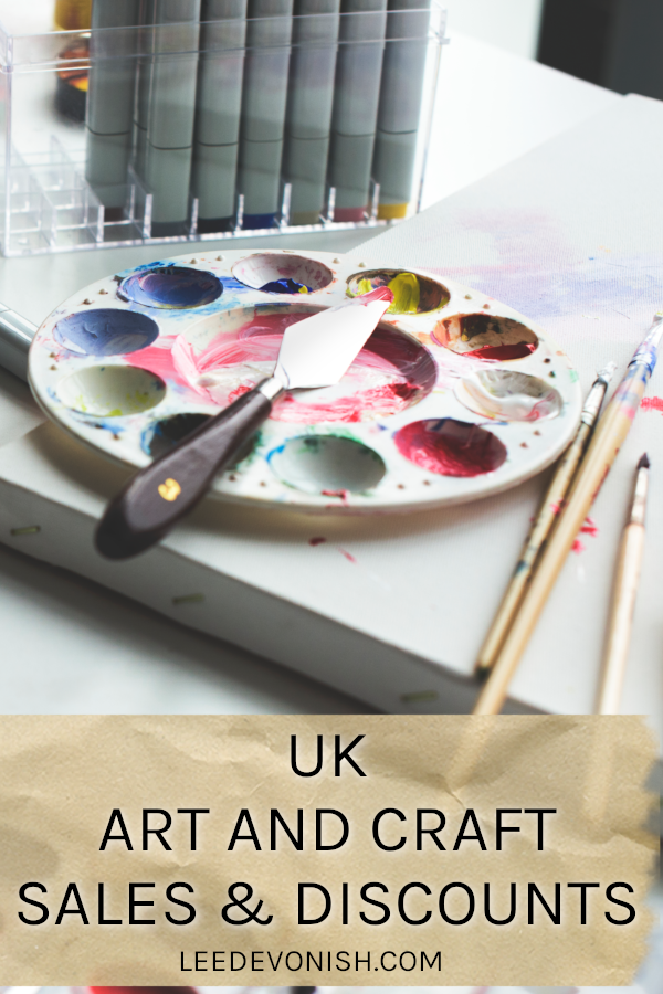 UK art and craft sales & discounts
