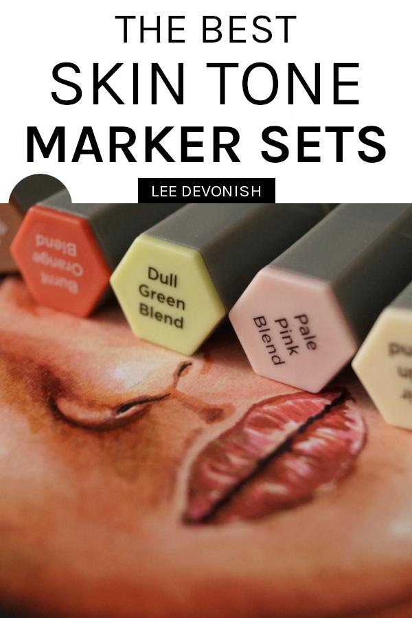 The best skin tone marker sets |  Spectrum Noir Triblend markers